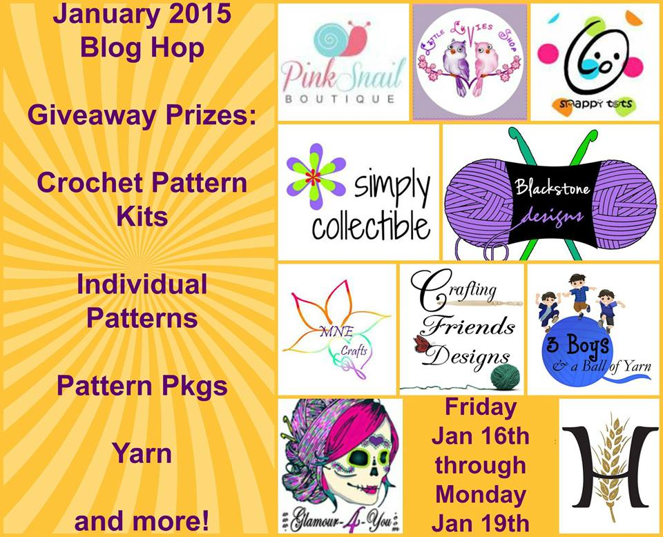 Crochet Blog Hop January 2015