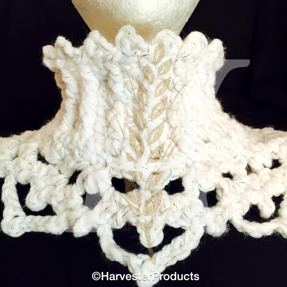Crochet Snow Queen Cowl