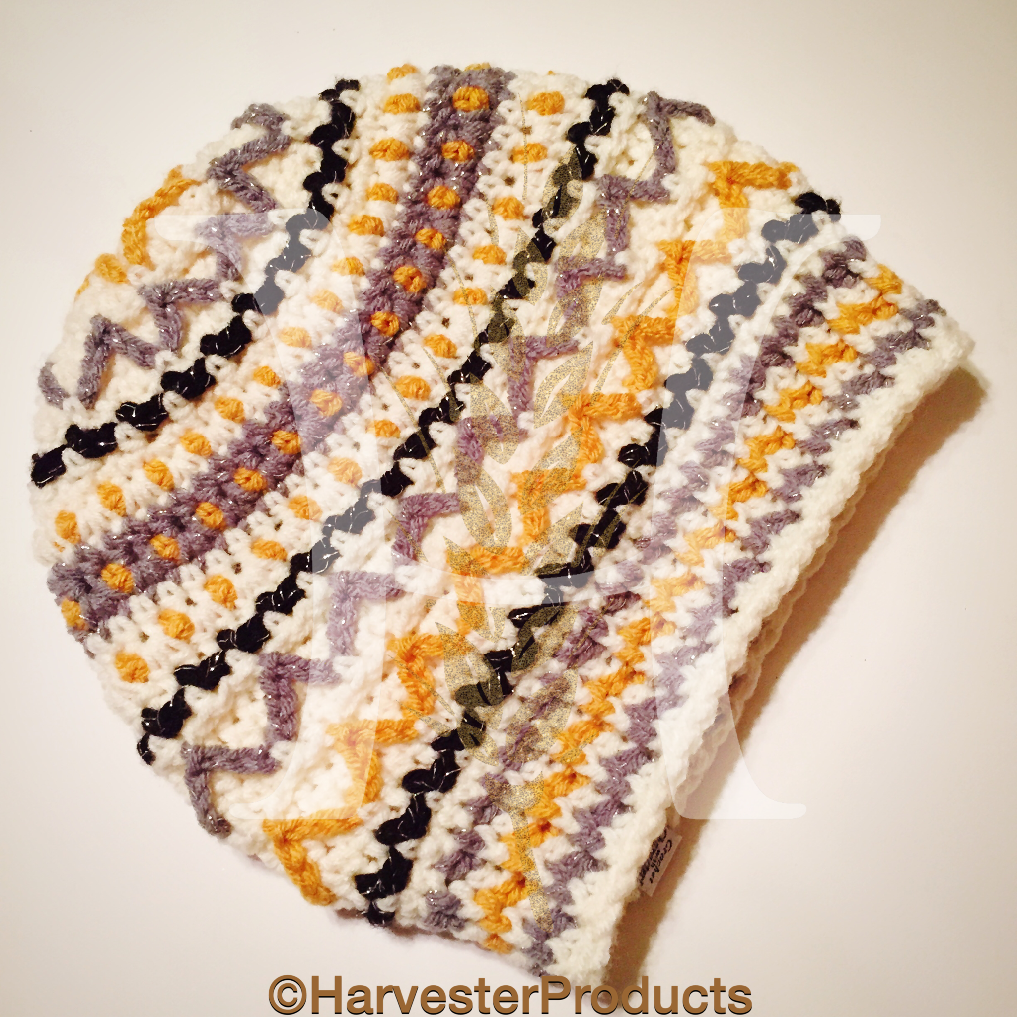 Crochet Arkenstone Slouch Hat  by Harvester Products