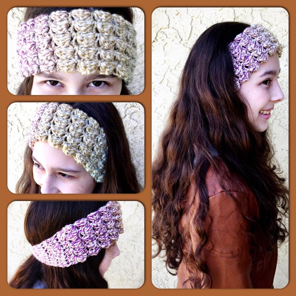 Mary Margaret Headwrap Crochet Pattern