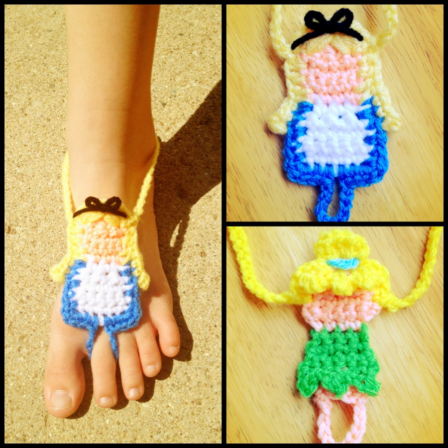 Princess Barefoot Sandals Pack #2
